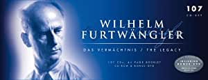 """The Legacy"": Wilhelm Furtwängler conducts: The Ring of the Nibelung, St. Matthew Passion, Brandenburg Concerto, Don Giovanni, The Magic Flute, amo!"