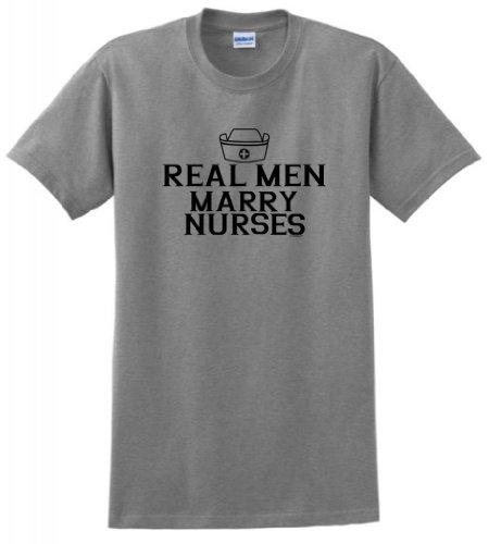 Real Men Marry Nurses T Shirt