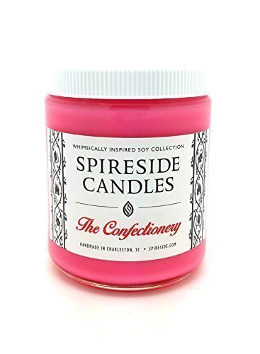 The Confectionery ® Candle - Spireside Candles, Disney Candles, Scented Soy Candle, 8 oz Jar