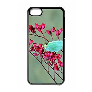 Butterfly Personalized Case for Iphone 5C, Customized Butterfly Case by mcsharks