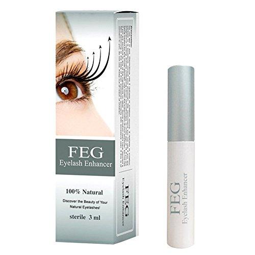 FEG Eyelash Enhancer Growth Serum 3ml 2015 Anti Counterfeit Box **AUTHENTIC**