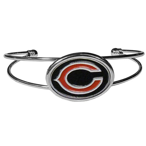 NFL Chicago Bears Womens Siskiyoucuff Bracelet, Metal, Cuff