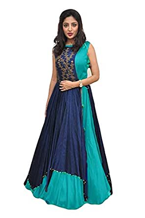 Amazon.com: gowns for women readymade(full stitched) party wear ...