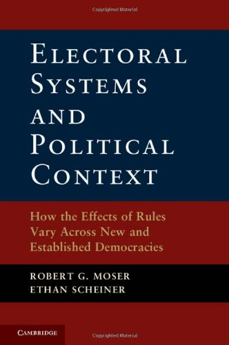 Electoral Systems and Political Context: How the Effects of Rules Vary Across New and Established -