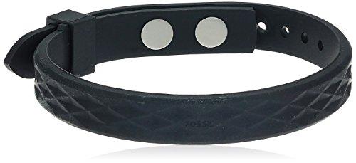 Fossil Vintage Casual Black Bangle Bracelet