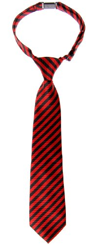Retreez Striped Woven Pre-tied Boy's Tie - Various Colors