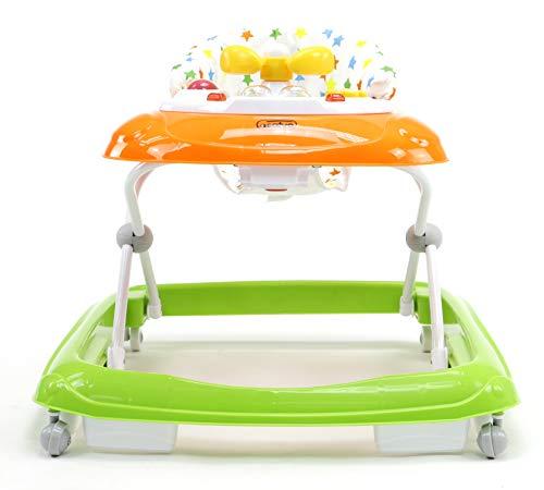 Asalvo - Andador Estrellas, Color Naranja y verde: Amazon.es: Bebé