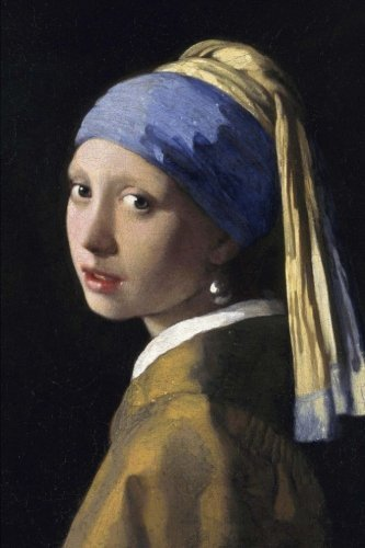 The girl with a pearl earring: Blank Journal; Johannes Vermeer notebook / composition book, 140 pages, 6 x 9 inch (15.24 x 22.86 cm) Laminated by Studio Beeker (2015-11-11) (Johannes Vermeer Girl With A Pearl Earring Value)