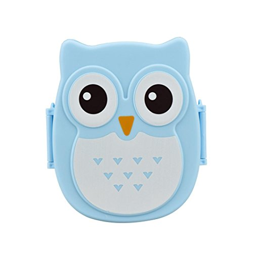 Sinfu Owl Lunch Box Food Container Storage Box Portable Bento Box (D)
