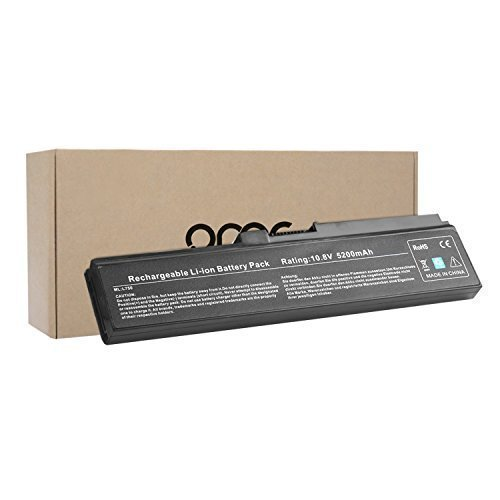 OMCreate New Laptop Battery for Toshiba PA3817U-1BRS PA3819U-1BRS Toshiba Satellite C655 L600 L675 L675D L700 L745 L750 L750D L755 L755D M640 M645 P745 Series (Toshiba Laptop Battery Satellite compare prices)