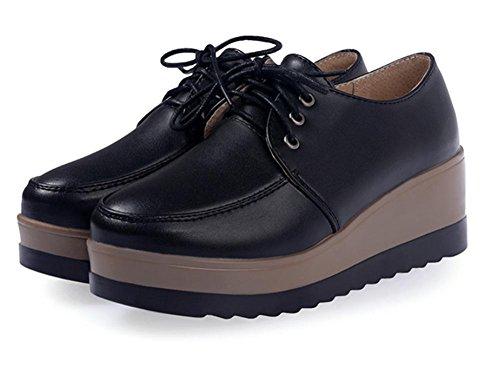Frau Frühling Aufzug Schuhe Plateauschuhe dicke Kruste Steigung mit Schuhen Freizeitschuhe Damen Schuhe , US5.5 / EU35 / UK3.5 / CN35