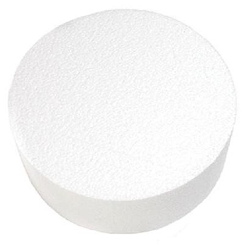 Oasis Supply 747094 Dummy Round Cake, 14'' x 5'', White by Oasis Supply