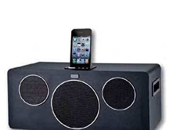 8a236b1cc2a Approx SP07 - Altavoz con purto Dock para Apple iPhone y iPod (52 W RMS, 30  Hz - 20 KHz, 2.1), Color Negro: Amazon.es: Informática
