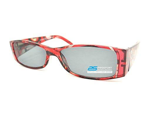 Trendy Squre Framed Reading Sunglasses for - Framed Glasses Red Square