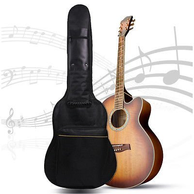Ardisle Full Größe Schutzhülle Tasche Tragetasche Halter-für klassische Akustikgitarre Rückseite gepolstert für: 101,6cm 104,1cm Rhythmus Gitarre, Strom Box Gitarre, Klassische Gitarre