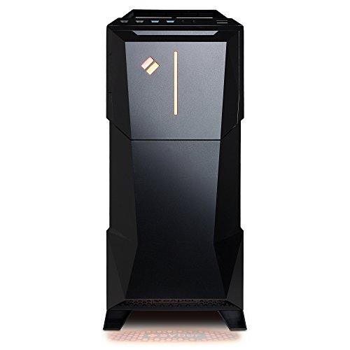 CyberPowerPC SMVR120LQ Syber Desktop Intel Core i5 8GB Memory AMD Radeon RX 480 1TB Hard Drive Black