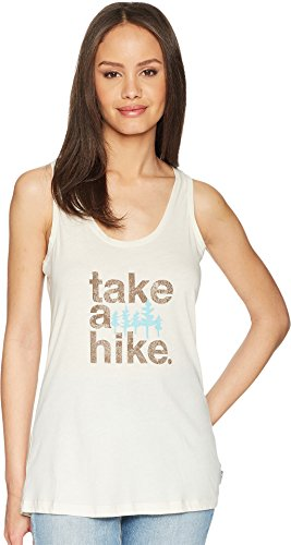 - Columbia Women's Outdoor Elements Tank II Top, Chalk/Take A Hike, Large