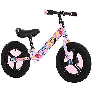 Bicicleta de equilibrio para bebé, 12 pulgadas de alto marco ...