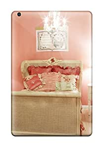 Premium Protection Pink Kids8217 Bedroom With Shabby Chic-style Furniture Case Cover For Ipad Mini/mini 2- Retail Packaging by lolosakes