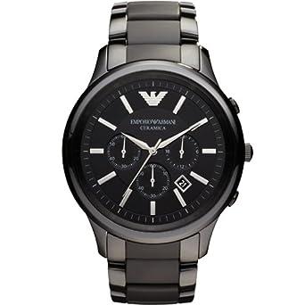 Armani AR1451 Homme Montre chronographe  Amazon.fr  Montres 9565abe211f