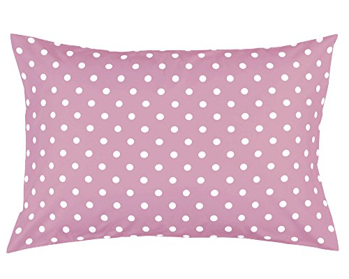 Cotton Toddler Pillowcase Solids Polka product image