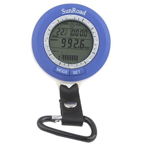 Generic Digital de bolsillo Barómetro de pesca con altímetro