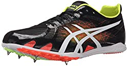 ASICS Men's Gunlap Track Shoe, Black/White, 12.5 M US