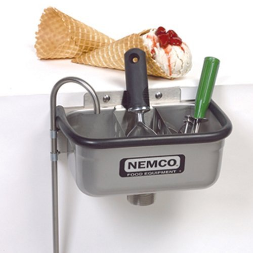 Nemco Ice Cream Dipper Station Spadewell (Excluding Divider) - 10 by Nemco