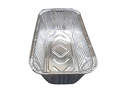 """6 Durable Foil D53020 Set of 6 Disposable Aluminum 9/"""" x 5/"""" x 3/"""" Medium Size Loaf Pans"""