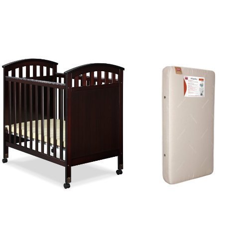 Dream On Me Jayden 4 In 1 Portable Convertible Crib With