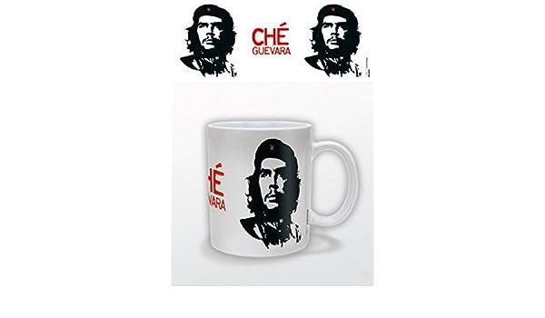 Set: Ernesto Ché Guevara, Portrait, Korda Taza Foto (9x8 cm) Y 1x Pegatina Sorpresa 1art1®: Amazon.es: Hogar