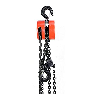 5 Ton Chain Hoist Fall Engine Puller Kit Strong 10000LBS Lifting Automotive Tool
