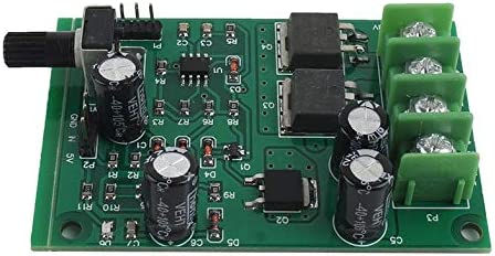 Surobayuusaku Easy To Install 5v-12v Dc Brushless Motor Driver Controller Hard Drive Motor