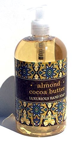 Greenwich Bay ALMOND COCOA BUTTER Shea Butter Hand Soap Enriched with Sweet Almond Oil 16 -