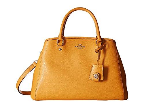 COACH COACH Women's Crossgrain Small Margot Carryall Orange Peel One Size price tips cheap