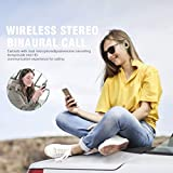 Bluetooth Headphones, Wireless Bluetooth Earbuds Stereo Earphone Cordless Sport Headsets, Bluetooth in-Ear Earphones with Built-in Mic for Smart Phones