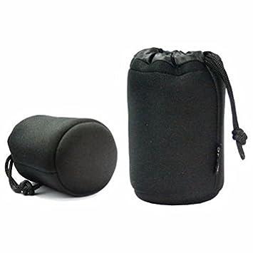 JJC JN-21 - Bolsa para Objetivos de cámara, Negro: Amazon.es ...