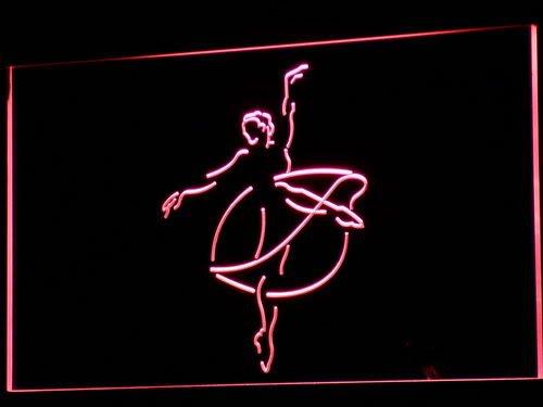 ADV PRO i713-b Ballerina Ballet Dancer School Neon Light Sign