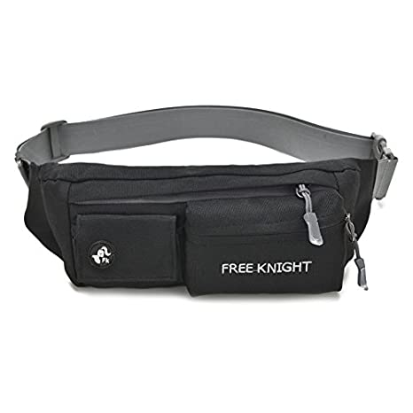 392383a3743d Free Knight Waist Bag Fanny Pack Water Resistant Sling Chest Shoulder Bag  Phone Holder Running Belt with Adjustable Band for Men Women Running, ...