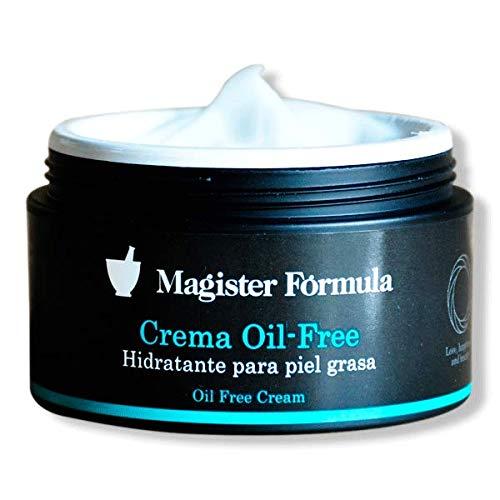 Crema Hidratante Oil Free 95ml | Magister Fórmula | Sin Grasa | Efecto mate | Reparadora y Antimicrobiana | Pieles Grasas | Piel Sensible | Día y Noche ...