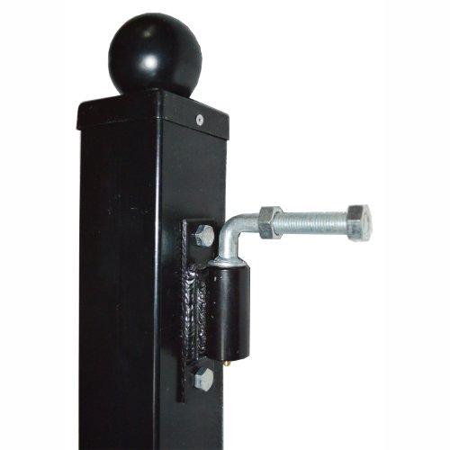 Aleko 5 8 hinge j bolt for aleko driveway gates iron gate for Driveway gate lock