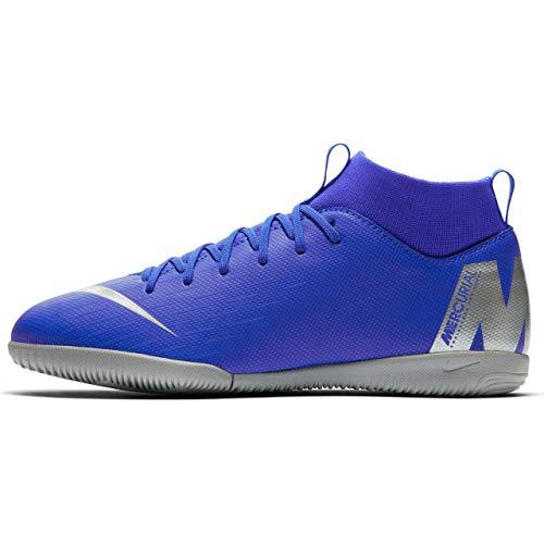 Nike Junior SuperflyX 6 Academy Indoor Soccer Shoes (5 US M Big Kid)