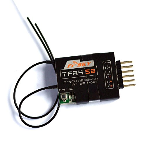 FrSky 2.4G 4-channel Receiver TFR4SB Compatible with Futaba FASST System