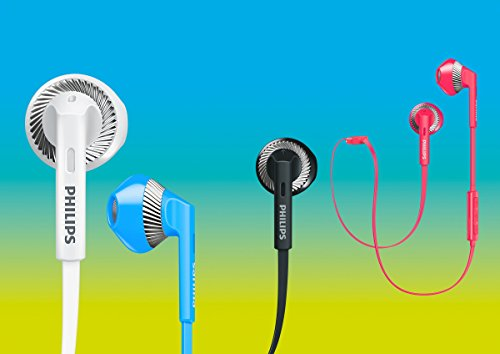 Philips FreshTones MyJam in Ear Wireless Bluetooth Headset, Black (SHB5250BK/27)