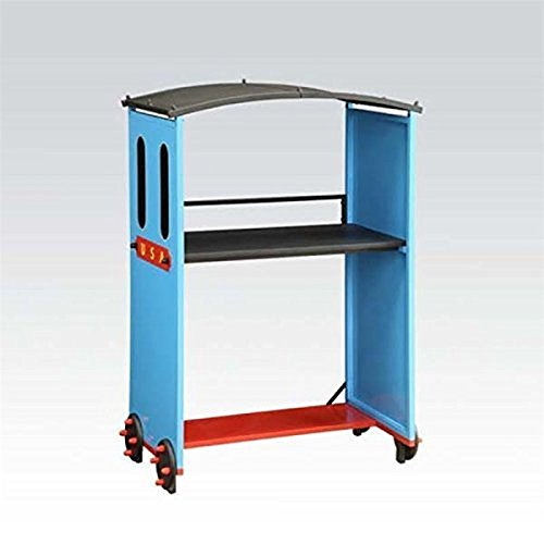 ACME Furniture Tobi 37562 Desk, Blue Train by Acme Furniture