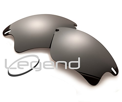POLARIZED Replacement Legend Lenses For Oakley FAST JACKET XL - Many Colors (Fast Jacket XL, Titanium - Polarized Jacket Fast Oakley Lenses