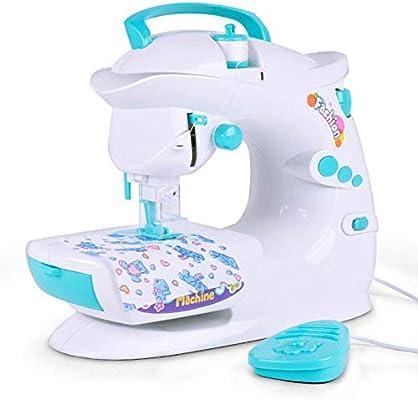 Máquinas De Coser para Niños Portátil Grande Herramienta De Costura Doméstica para Principiantes Simple Y Fácil De Usar Justo para Chica Navidad Presente ...