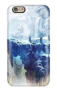 Protection Case For HTC One M8 Cover For Iphone(frozen Cave In Trine 2)