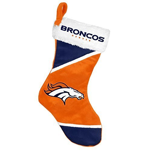 2014 NFL Football Team Logo Colorblock Holiday Stocking (Denver (Logo Hanging Stocking)