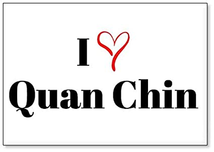 i love quan chin fridge magnet design 2 - Chins Kitchen 2